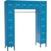 Infinity™ 16 personnes casier 12 x 18 x 12 assemblé bleu