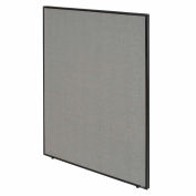 """Interion® Office Partition Panel, 48-1/4""""W x 60""""H, Gray"""