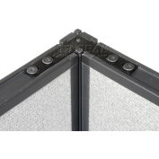 "Interion® 90 Degree Corner Connector Kit For 46"" H Panel"