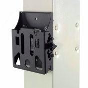 "Global Industrial™ 10-30"" Flat Screen Vesa Monitor Mount, 6-3/4""W x 1-1/2""D, Black"