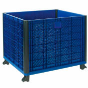 Global Industrial™ Easy Assembly Solid Wall Container 39-1/4 x 31-1/2 x 33-1/2 Overall