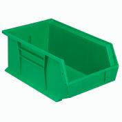 "Plastic Stack & Hang Bin, 8-1/4""W x 13-5/8""D x 6""H, Green - Pkg Qty 12"