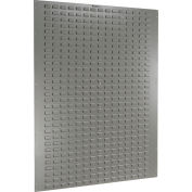 """Global Industrial™ Louvered Wall Panel Without Bins 48""""W x 61""""H"""