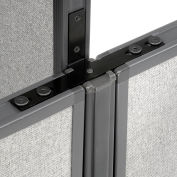 """Interion® Low-High Three Way Kit For Two 46"""" Low Panel"""