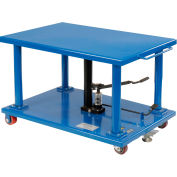 Global Industrial™ Work Positioning Post Lift Table Foot Control 2000 Lb. Capacity