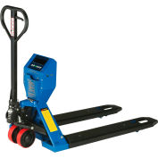"Global Industrial™ Low-Profile Pallet Jack Scale Truck, 27""W x 48""L Forks, 5000 Lb. Capacity"
