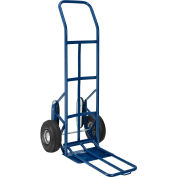 Global Industrial™ Steel Hand Truck with Curved Handle & Stair Climbers 600 Lb. Capacity