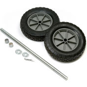 "Global Industrial™ Universal 8"" Mold-On Rubber Hand Truck Wheel Kit"
