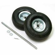 "Global Industrial™ Universal 10"" Pneumatic Hand Truck Wheel Kit"