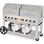 "Crown Verity ® CV-CCB-72RDP, Liquid Propane, 72"" Club Grill"