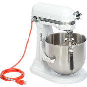 KitchenAid® KSM8990WH Commercial 8 Qt. Bowl Mixer, White