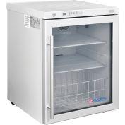 Global Industrial™ Undercounter Laboratory Refrigerator, Glass Door, 2.4 Cu.Ft.