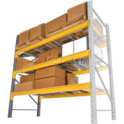 "Husky Rack & Wire Lynx/Double Slotted Pallet Rack Add-On - No Deck - 96""W x 36""D x 96""H"