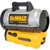 DeWalt DXH70CFA - Forced Air Propane Heater - 68000 BTU Hybrid 20V Cordless Battery or Plug-in