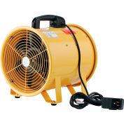 """12"""" Ventilateur de ventilation portable - 1640 CFM - 3/8 HP"""