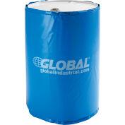 Chauffe-® global industriel et isolé pour tambour de 55 gallons, temp fixe de 100°F, 120V