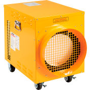 Global Industrial® 15 KW Portable Electric Heater, 208V, 3 Phase