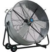 """Continental Dynamics® 36"""" Tilt Drum Blower Fan - Portable - Direct Drive - 11200 CFM - 1/3 HP"""