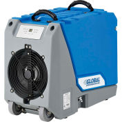 Global Industrial® Crawl Space Commercial Dehumidifier With Pump, 90 Pint Output Per Day