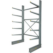 """Global Industrial™ Single Sided Cantilever Rack Starter, 2"""" Lip, 72""""Wx50""""Dx10'H"""