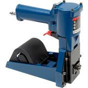 "Pneumatic Coil Carton Stapler for 1-1/4"" x 5/8"" Staples, 1000 Staples Capacity, Blue"