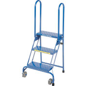 3 Step Lock-N-Stock Folding Ladder - LS3247