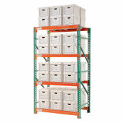 """Global Industrial™ Record Storage Rack Starter Letter Legal 48""""W x 36""""D x 96""""H"""