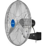 Global Industrial™ 30» Ventilateur à paroi industrielle de luxe, Oscillant, 10000 CFM,1/2 HP