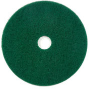 "Global Industrial™ 22"" Green Scrubbing Pad - 5 Per Case"
