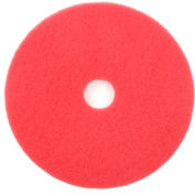 """Global Industrial™ 20"""" Red Buffing Pad - 5 Par cas"""