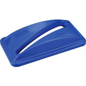 Global Industrial™ Paper Recycling Lid, Blue