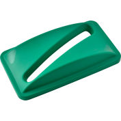 Global Industrial™ Paper Recycling Lid, Green