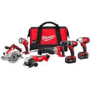 Milwaukee® 2696-26 M18™ Cordless Li-Ion 6-Tool Combo Kit