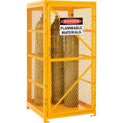 Global Industrial™ Cylinder Storage Cabinet With Manual Close Single Door, 9 Cylinder Cap.