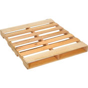 "Global Industrial™ New Hard Wood GMA Pallet, 48"" x 40"" x 4-1/2"""