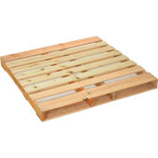 "Global Industrial™ New Hard Wood Pallet, 48""L x 48""W x 4-1/2""H"