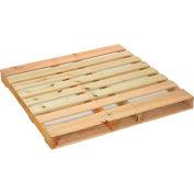 "Global Industrial™ New Hard Wood Pallet, 48""L x 48""W x 4-1/2""H"