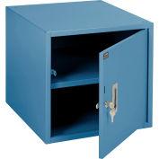 "Global Industrial™ Steel Cabinet W/ 150 Lbs Capacity, 17-1/4""W x 20""D, Blue"