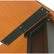 "Interion® Table Top Connector Bracket, 23-5/8""L x 3-1/8""W x 3-1/8""D"