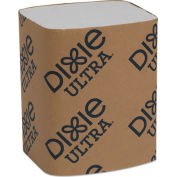"""Dixie Ultra® GPC32006, Interfold Napkin Refills, 6-1/2""""Wx9-7/8""""D, White, 6000/Carton"""