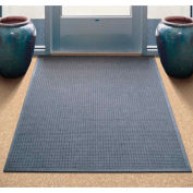 "WaterHog® Entrance Mat Fashion Border 3/8"" Thick 2' x 3' Gray"