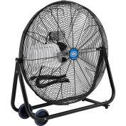 "Global Industrial™ 24"" Tilt Floor Fan - Portable - Direct Drive - 7700 CFM - 1/4 HP"