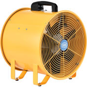 """Global Industrial™ 16"""" Ventilateur de ventilation portable - 2850 CFM - 1 HP"""