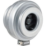 "Global Industrial™ 12"" Inline Duct Fan - Galvanized Steel - Energy Star Rated - 930 CFM"