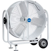 "Global Industrial™ 30"" Mobile Tilt Drum Blower Fan - Outdoor Rated - 6890 CFM - 1/3 HP"