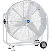 "Global Industrial™ 42"" Mobile Tilt Drum Blower Fan - Outdoor Rated - 15000 CFM - 1/2 HP"