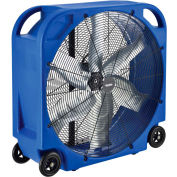 "Global Industrial™ 36"" Blower Fan, Rotomold Plastic, Direct Drive, 11200 CFM, 3/4 HP"