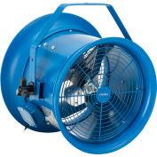 """Global Industrial™ 14"""" High Velocity Dock Fan w/ Yoke Mount, 6800 CFM, 115/240V"""