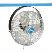 Global Industrial™ 12» Industrial Workstation Fan, Joug Mount, 1855 CFM, 1/15 HP
