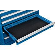 "Global Industrial™ Drawer Mat for 36""Wx24""D Modular Drawer Cabinet, Black"